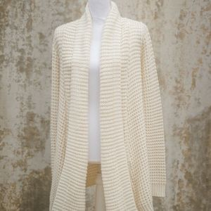 Knit Cream Cardigan